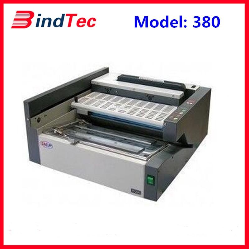 BD 380 Desktop Automatic Perfect Binder, Glue Binding