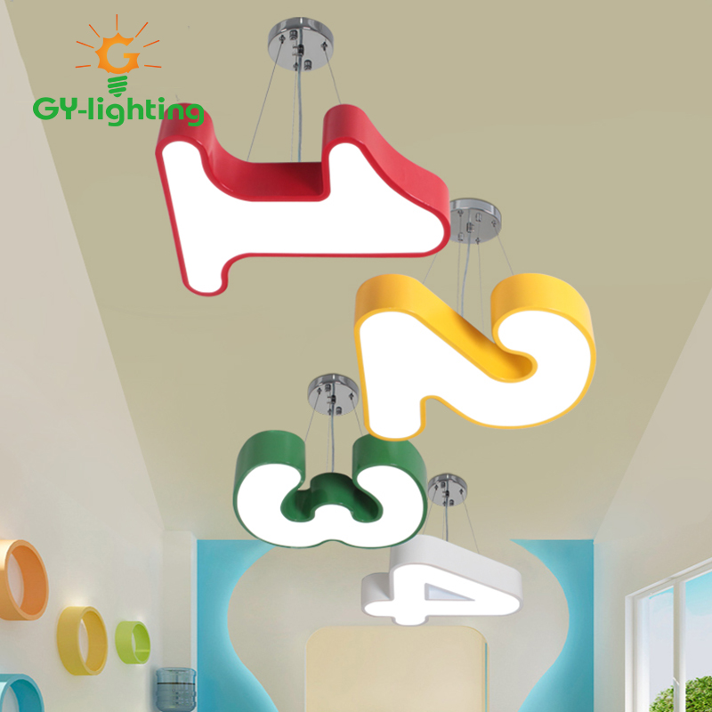 LED Cartoon Children Pendant Lamps Kids hanging room light Creative Children Boy Girl 's pendant lights Home Decoration Lighting kids led pendant lights basketball football glass e27 led bulb cartoon children s room bedroom lamps lighting ems free shipping