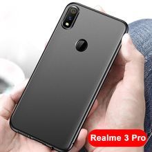 Realme 3 Pro Soft TPU Case Ultra Thin bumper case for For OPPO cover frosted Shockproof covers