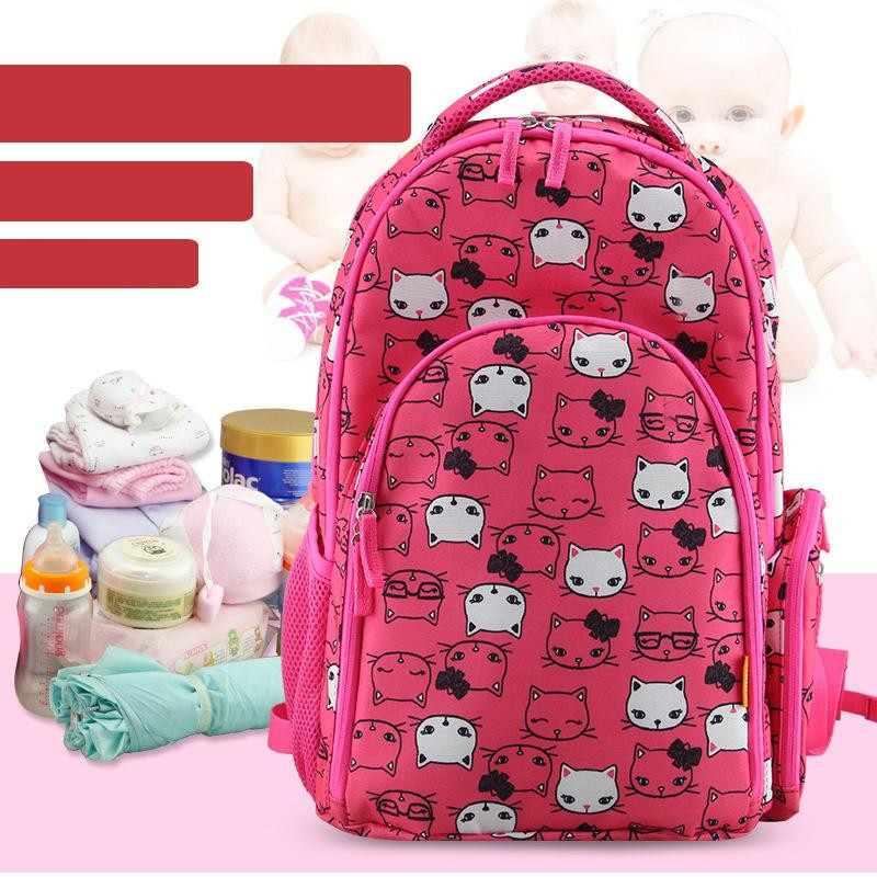Brand New Fashion Mother Baby Stroller Backpack Shoulder Multifunctional Mother Pack Large Capacity Mummy Bags Free Drop Ship13