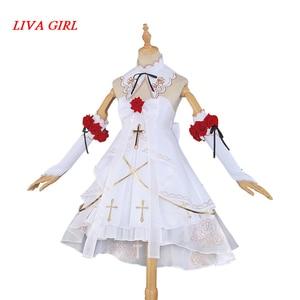 Liva girl, новинка, Тереза, апокалипсиса, Honkai Impact, 3, Тереза, день рождения, волшебная девочка, карнавальный костюм, костюмы на Хэллоуин для женщин,...