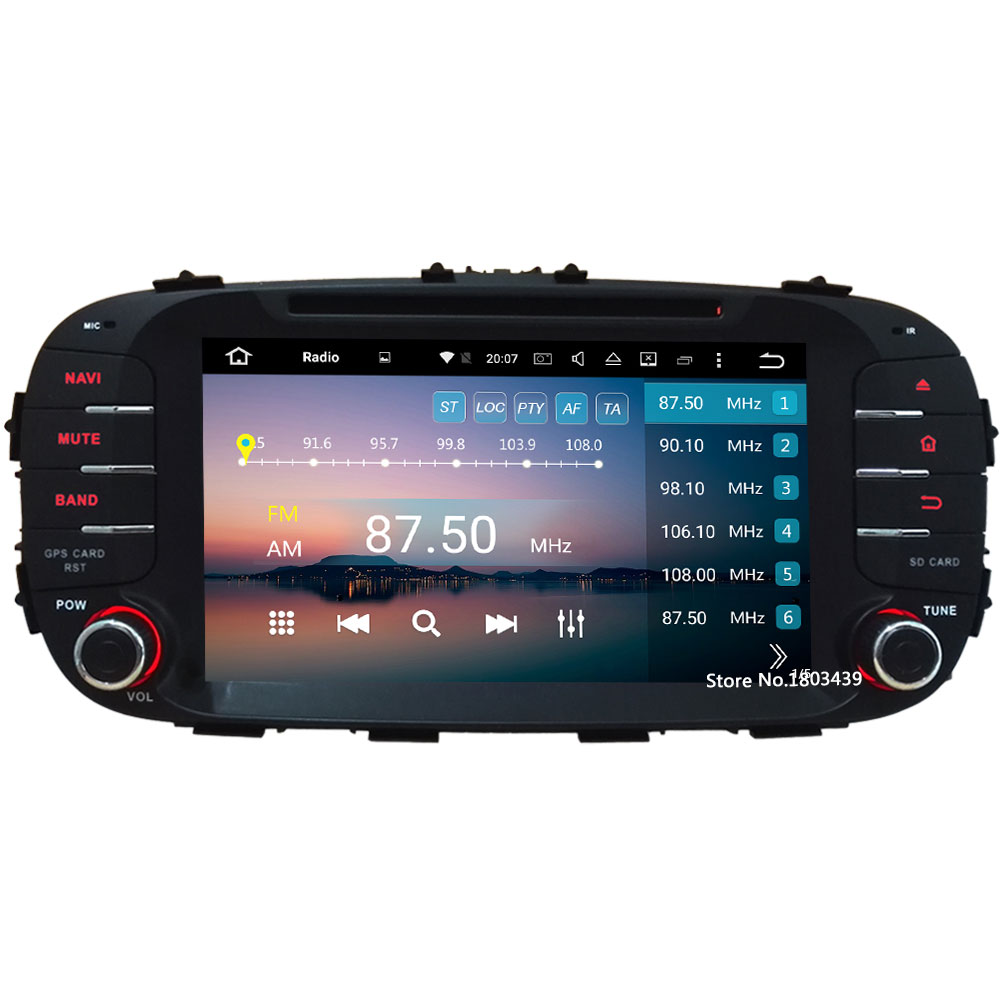 8 Octa-Core Android 8.0 4GB RAM 32GB ROM RDS SWC Car DVD Multimedia Player Radio Stereo For Kia Soul 2014 2015 2016