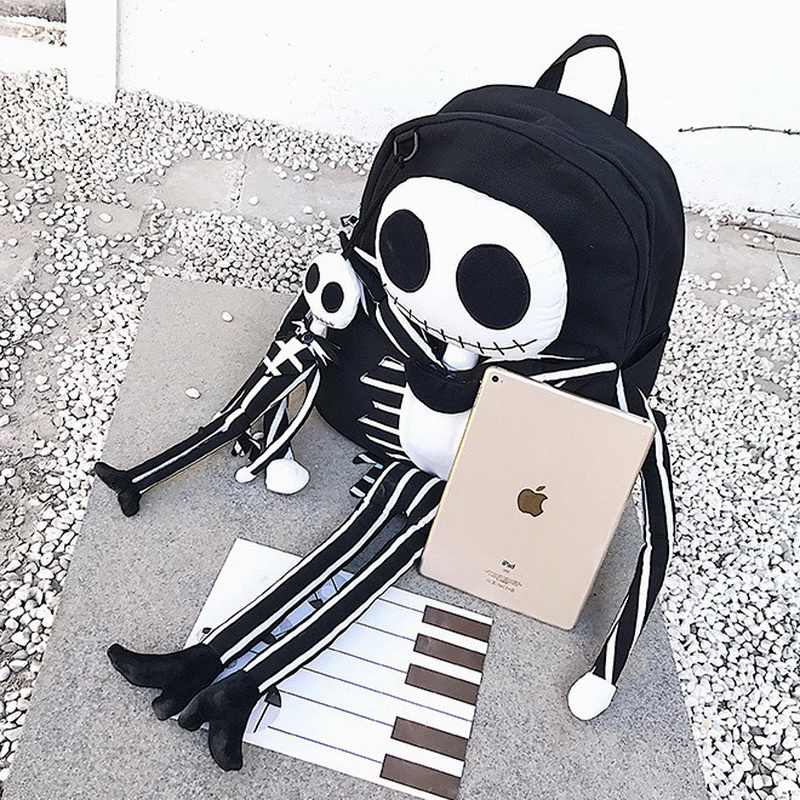 ... DIINOVIVO Funny Skull Women Backpack Men Special Travel Bags New Casual  School Bag Big Laptop Backpacks ... ad3ba201a723e