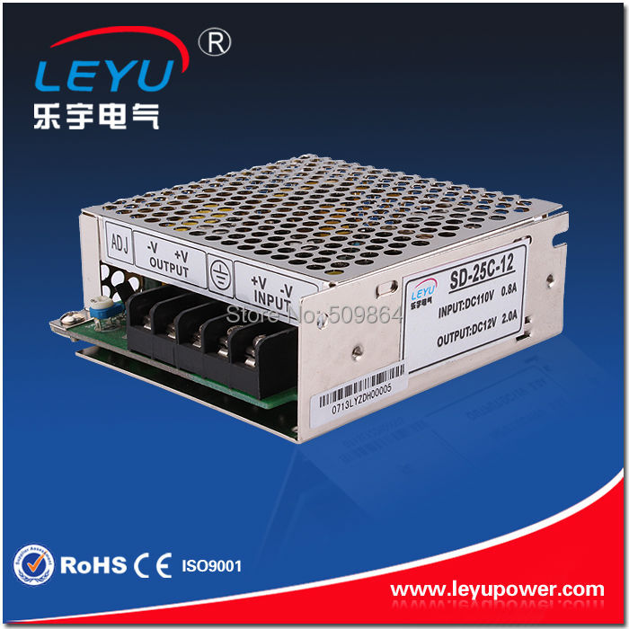 ce rohs 25w 48vdc 0.8a to 5vdc 5a dc dc power supply