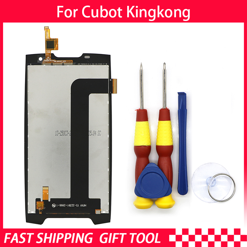 New original Touch Screen LCD Display LCD Screen For Cubot Kingkong  Replacement Parts + Disassemble Tool+GlueNew original Touch Screen LCD Display LCD Screen For Cubot Kingkong  Replacement Parts + Disassemble Tool+Glue