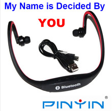 New Bluetooth Headset Bluetooth 3.0 In Ear Wireless Stereo Bluetooth Headphone Sport Wireless Bluetooth Headset For Cell Phone