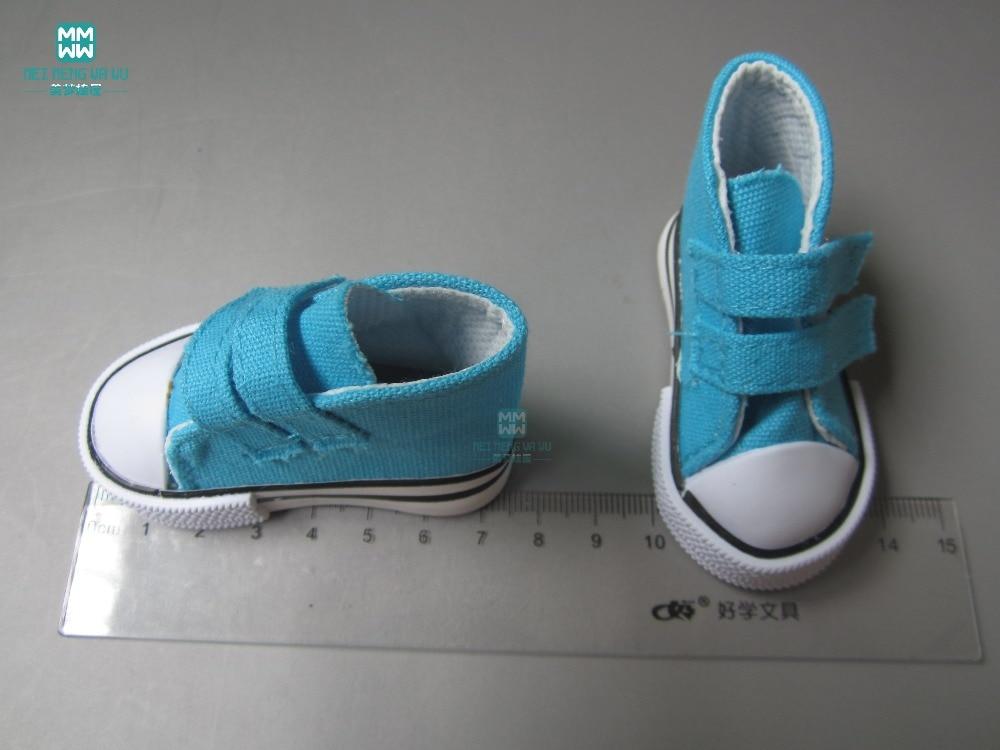 Aksesoris Boneka Mini Sepatu grosir ulticolor 7.5cm Sepatu Kanvas - Boneka dan mainan lunak - Foto 2