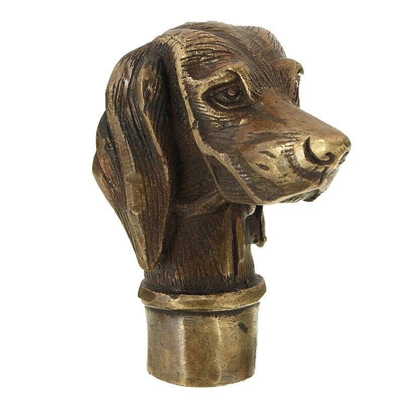 Escultura de bronce del perro compra lotes baratos de Estatuas decoracion