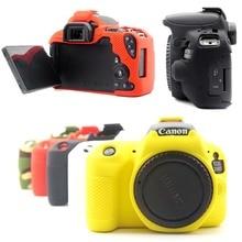 Резиновый силиконовый защитный чехол Крышка корпуса мягкая сумка для камеры для Canon EOS 200D 250D Rebel KISS X9 X90 SL2 SL3 рамка чехол