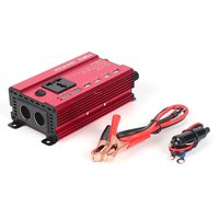 Portable 650W Power Car Vehicle Inverter with LCD Display 12V 220V Automotive Converter Power Supply with 4 USB Ports
