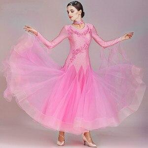 Image 5 - Women Ballroom Dance Dresses Standard Ballroom Dancing Clothes Competition Standard Dance Dress Waltz Foxtrot Dress