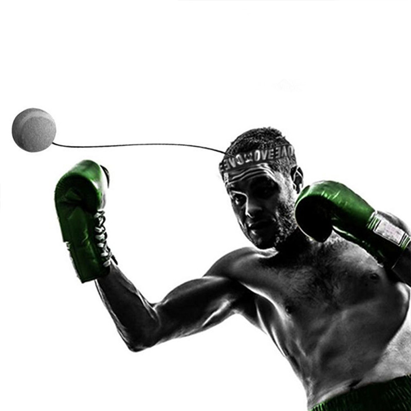 Fight-Ball Boxing-Equipment Boxer Training Reflex-Speed Head-Band with for Gym Fitness