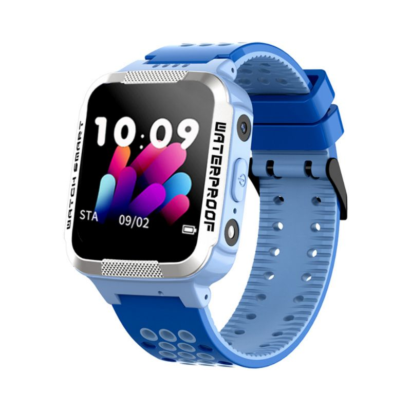 Children Smart Watch LBS Location IP67 Water Resistant Strap Wristwatch Wearable Device