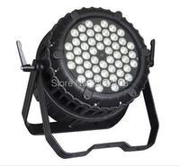 54*3W RGBW LED Par Light Lamp Luz DMX512 DJ Disco Pary Wedding Bar 200W Stage Effect Lightings Project 230V Free Shipping