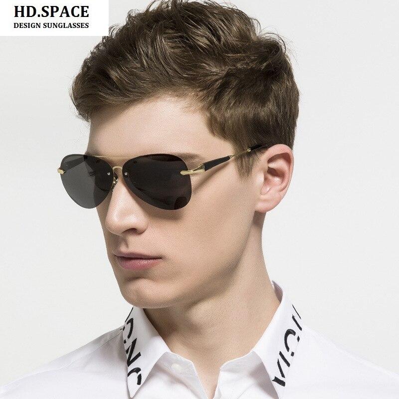 sunglasses for men aviator  Popular Rimless Aviator Sunglasses-Buy Cheap Rimless Aviator ...
