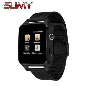 Slimy Bluetooth Smart Watch X6 Passometer Smartwatch Camera Support 2G SIM TF Whatsapp Facebook Clock for Women Men Kids Clock умные часы smart watch y1