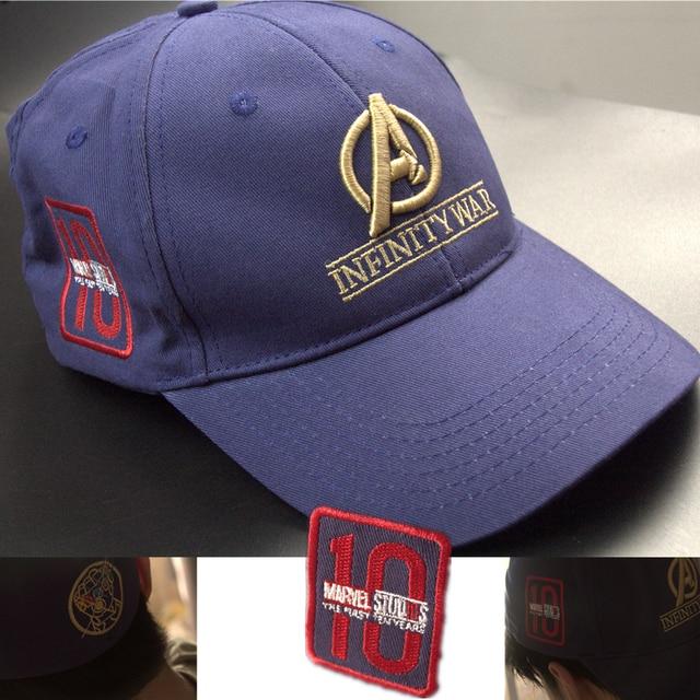 5dd77222 Movie Avengers Infinity War Cosplay Costumes New Era Crew Cap Collectors Hat