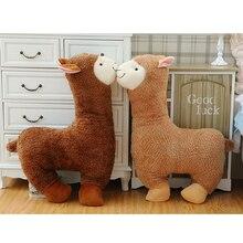 Cute Alpaca Stuffed Animals Toys Pillow Plush Soft Big Brinquedo Menina Sleeping Baby Doll Knuffel Toys For Children 50G0435
