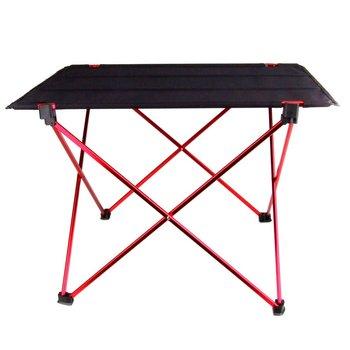 Горячая Распродажа портативный складной стол Кемпинг Открытый Пикник 6061 алюминиевый сплав ультра-легкий
