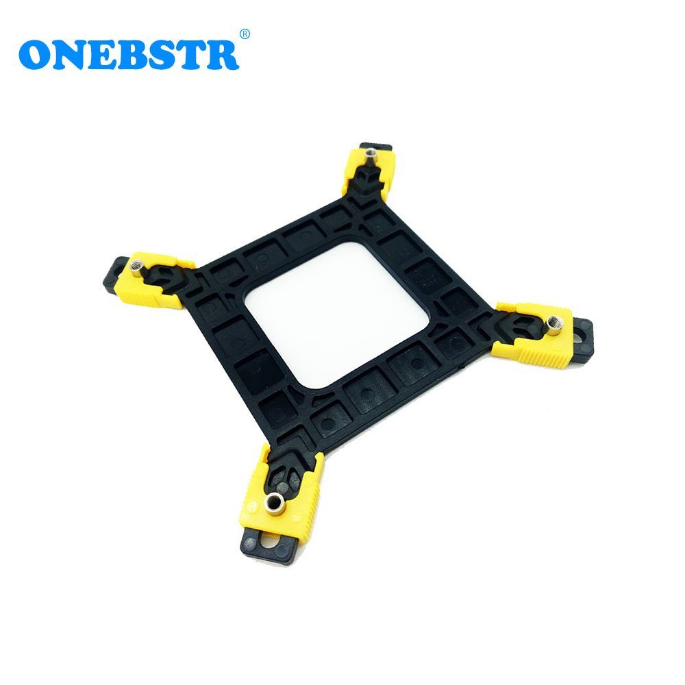 Multi-Platform LGA775/115X/1366 CPU Backplane Desktop Computer Common Backplate Cooler Bracket Pitch Free Shipping