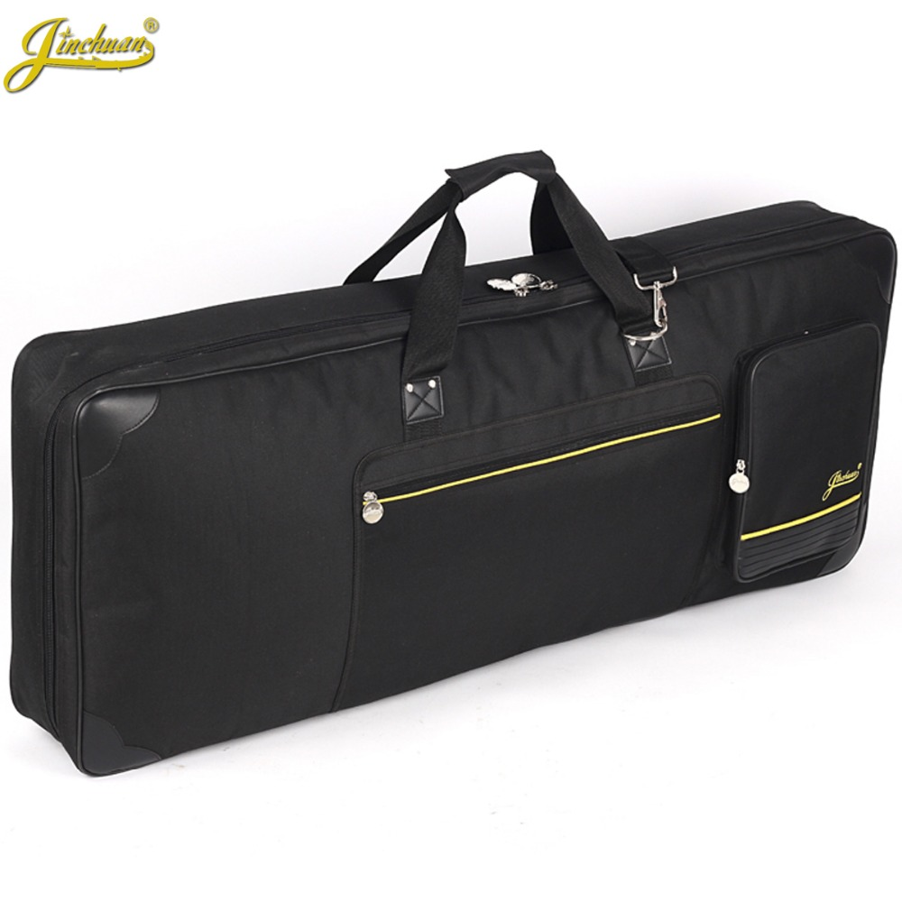 Good quality professional Portable waterproof 61 key keyboard electric organ piano package padded bag soft cases gig cover black high grade new wholesale professional portable tenor saxophone bag bb sax gig case waterproof backpack soft cover padded thicker