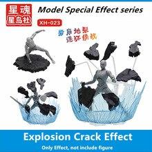Estrella Soul modelo explosión grieta efecto especial para Saint Seiya Dragon ball Gundam enmascarado jinete modelo SX014