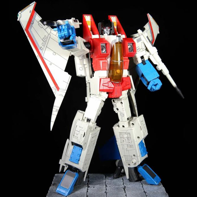 (In stock) Toys Robot Hero KO MP11 MASTERPIECE RED STARSCREAM