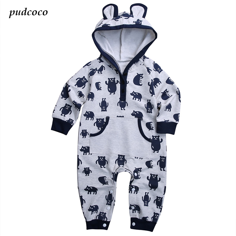 Babies Girls Super Cute Cartoon Romper Newborn Infant Baby Boys Little Bear Rompers Jumpsuit Sunsuit Clothes Outfits newborn infant baby girl boys cute rabbit bunny rompers jumpsuit long sleeve clothing outfits girls sunsuit clothes