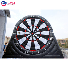 Funny shooting game inflatable football darts board manufacturer foot dart from china high quality inflatable soccer dart best price of football dart game inflatable soccer darts game on sale