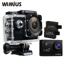 Wimius Action Sports Camera 2.0″LCD Waterproof 40M WiFi 1080p Full HD 12MP 170 wide-angle Mini Video DV Camcorder 2 Batteries