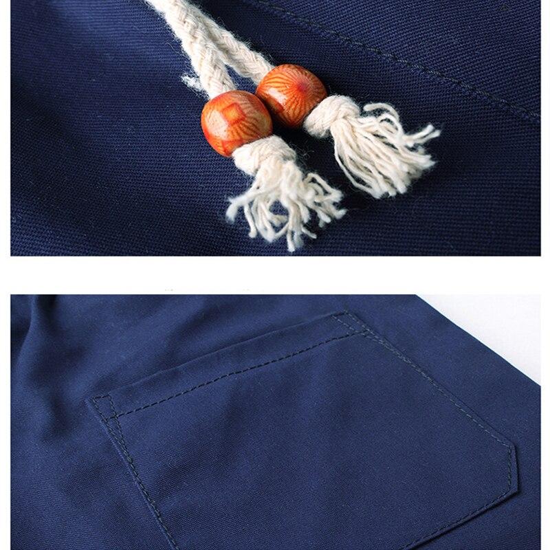 Zomer Katoenen Shorts Heren Modemerk Boardshorts Ademend Heren - Herenkleding - Foto 6