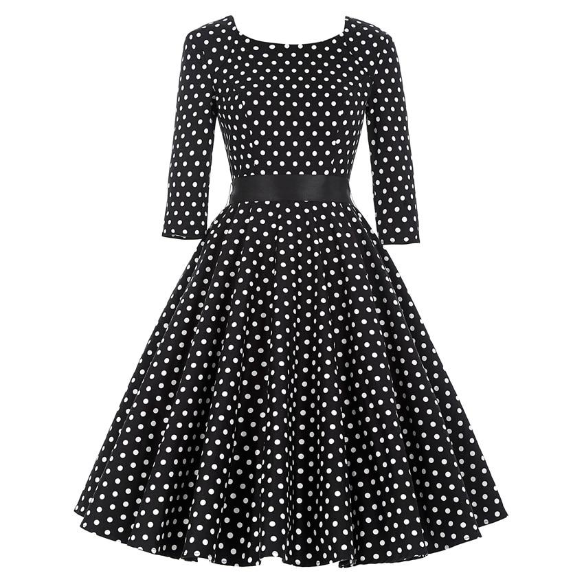 ⃝Female 3/4 Or Full Sleeve ③ Summer Summer Dress Autumn ...