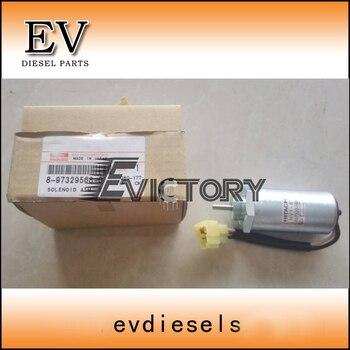 Натуральная 3LD1 4LE1 4LE2 4LB1 электромагнитный клапан/соленоидный переключатель 8-97329568-0 для Isuzu тракторный двигатель