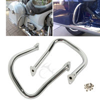 Motorcycle Chrome Rear Highway Bars For Indian Chief Chieftain Classic Vintage Dark Horse Roadmaster 14 18 15 16