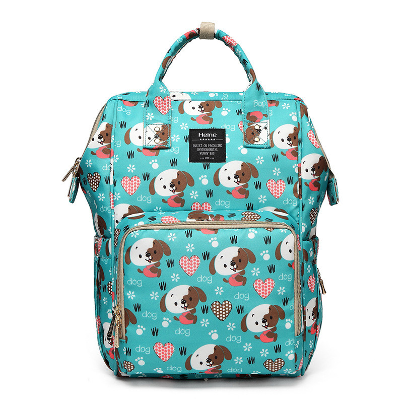 Baby Diaper Change Diaper Mummy Backpack Shoulder Bag Heine New Products Cartoon Puppy/Multifunction Large Capacity Mother Bag quelle heine 140868