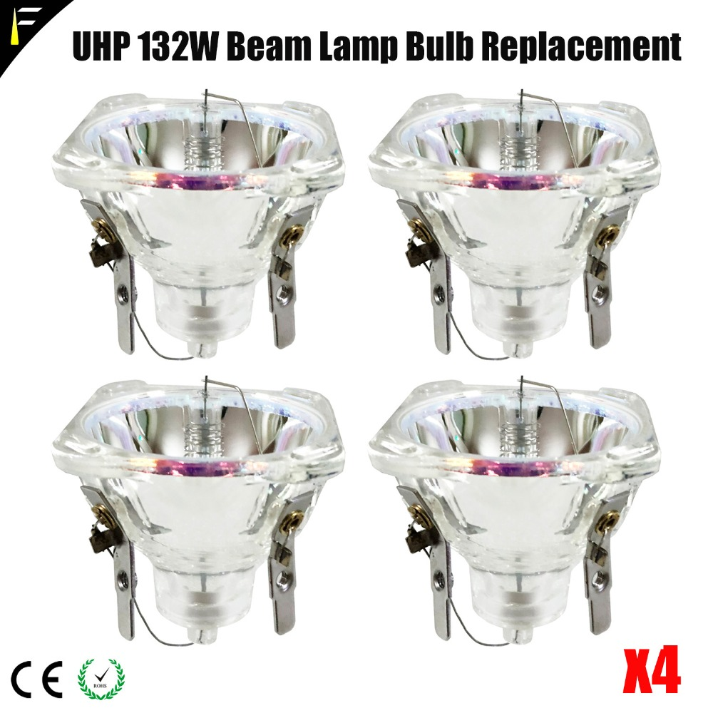 4pcs/lot Compact Beam Lamp Bulb UHP R2 132/2R 132w Model Replacement Accessories For DJ Lights4pcs/lot Compact Beam Lamp Bulb UHP R2 132/2R 132w Model Replacement Accessories For DJ Lights