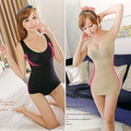 Sexy Women's Body Shaper Girl Casual Slim Tops Push-Up Long Vest  Shaperwear