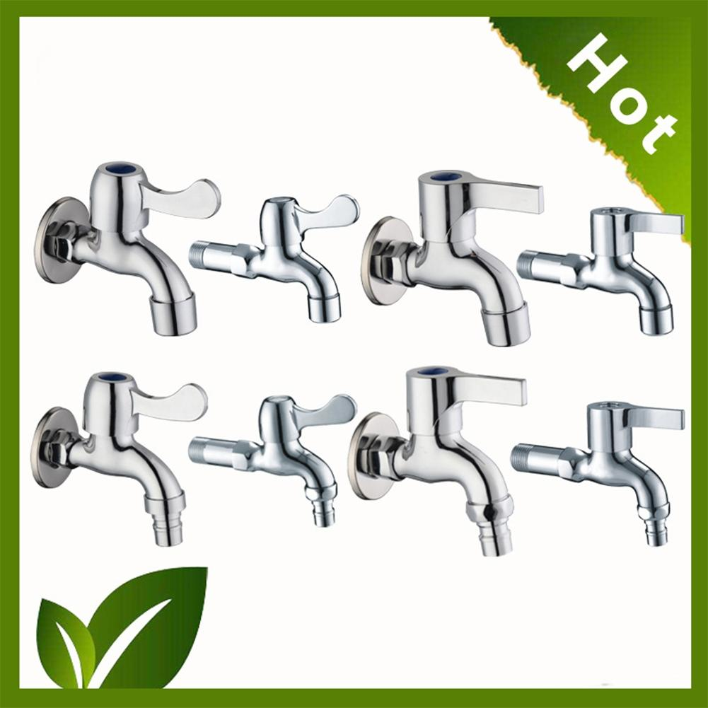 LanLan Stylish Wall-in Faucet Cold Water Tap Kitchen Bathroom Decoration