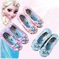 Тонкие Туфли для маленьких девочек  детская обувь для танцев с блестками  мягкая подошва  обувь для принцессы  европейский размер 25-36  2019