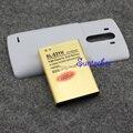 G3 de alta capacidade da bateria 6500 mah + preto/branco voltar tampa da caixa de energia para lg g3 optimus d855 d830 d850 d851 f400 bl-53yh
