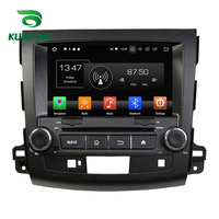 Octa Core 4GB RAM Android 8.0 Car DVD GPS Navigation Multimedia Player Car Stereo for MITSUBISHI Outlander 2006 2012 Radio WIFI
