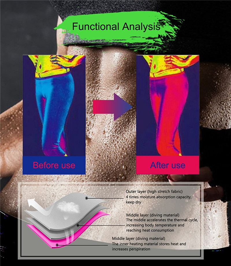 Slimming Pants Women Neoprene Sauna Suit Control Panties Weight Loss Hot Sweat Waist Trainer Body Shaper Shorts Keep Warm (13)