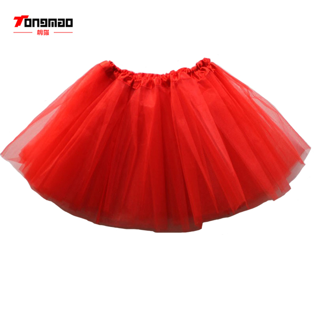 4899f5fda4 2018 New girl Dance Skirt Children's Poncho Akirt tutu skirt Princess net  yarn Pleated Ballet Dancing Dkirt Girl Half Skirts