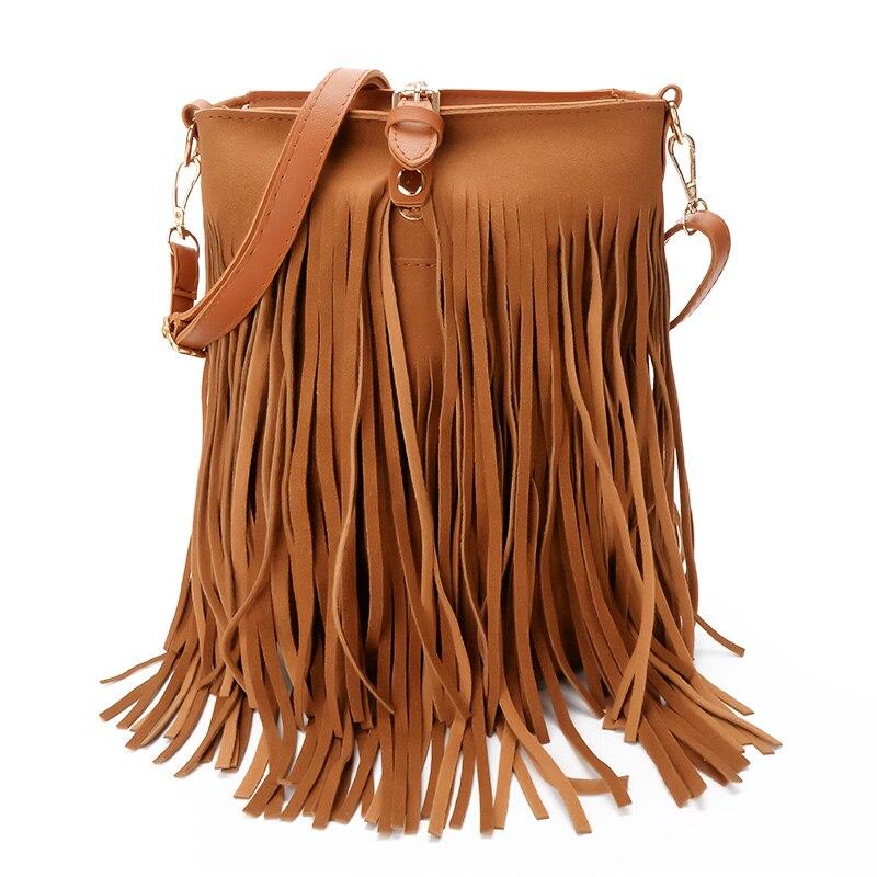 best wholesale pu leather fringe handbags ideas and get free