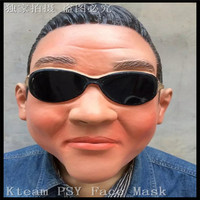 Halloween Party Cosplay Gangnam Style Psy Latex Mask,Amuse Halloween Silicone Face Mask,Birthday Party Latex Celebrity Face Mask
