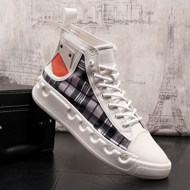 Stephoes Luxury Brand Men Casual Ankle Boots Spring Autumn High Top Men's Vulcanize Comfortable Sneakers Walking Leisure Shoes-in Men's Casual Shoes from Shoes on Aliexpress.com | Alibaba Group 52