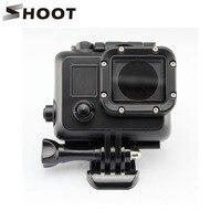 Black Underwater Waterproof Housing Case Cover For Gopro Hero 3 3 4 Sports Camera Go Pro