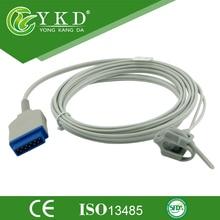 Sensor de pulso da pressão arterial neonato Envoltório De Silicone para GE Dash 2500 (módulo oximax), 11pin
