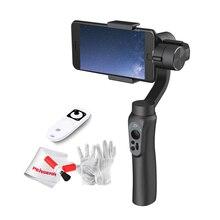 Zhiyun гладкой Q ручной 3 оси Gimbal стабилизатор Пульт дистанционного Управления селфи свет для смартфонов iPhone 7 P 6 S 6 Plus Samsung S7 S6