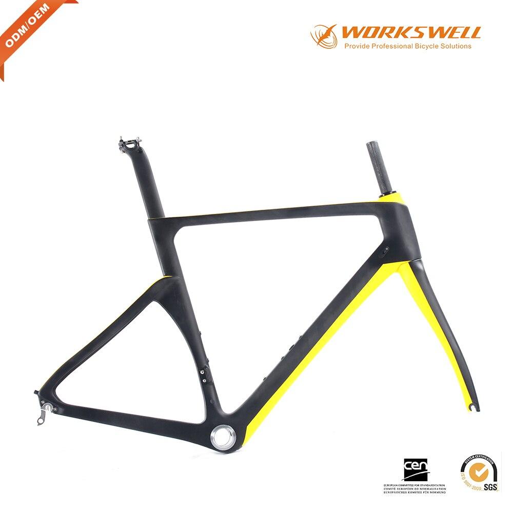 Hot sale Carbon Road frames carbon fiber bicycle frame road race ...